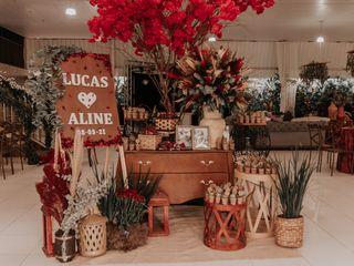 O casamento de Aline e Lucas 1