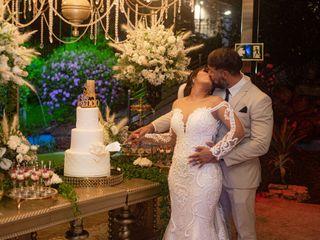 O casamento de Stephanie e Tiago