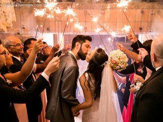 O casamento de Caroline e Matheus