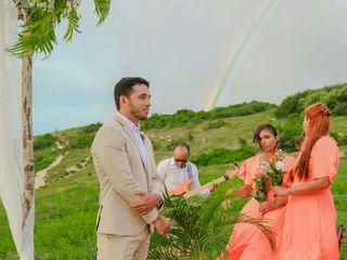 O casamento de Rebekah e Junior 1