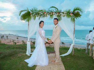 O casamento de Rebekah e Junior