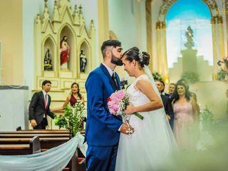 O casamento de Milena e Robert