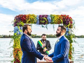 O casamento de Pedro Gurgel  e Pedro Emídio