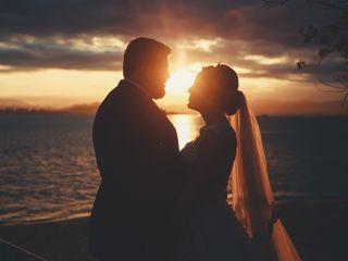 O casamento de Crisiane e Anderson
