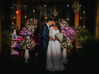 O casamento de Wendell e Eliara