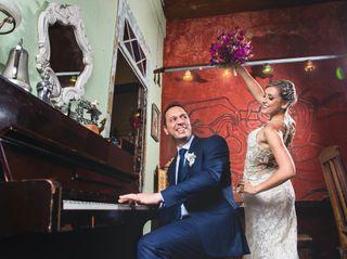 O casamento de Andrea e Tiago