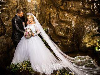 O casamento de Valquíria e Michael