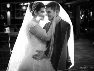 O casamento de Carina e John
