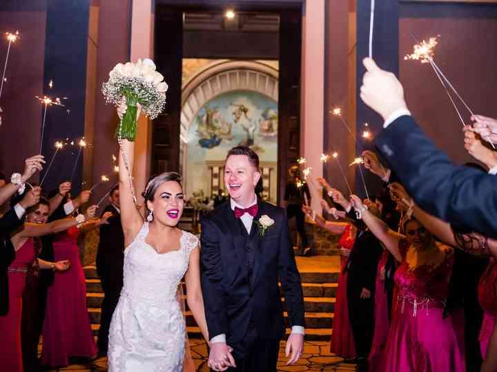 O casamento de Aline e Ismael