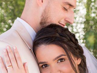 O casamento de Raquel e Haias