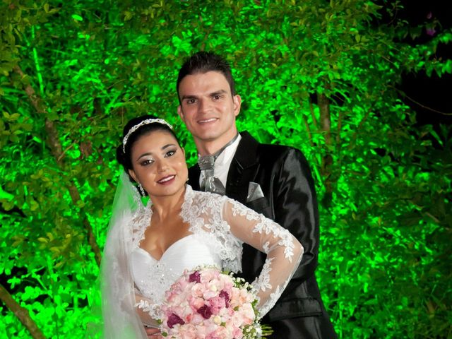O casamento de Tatiane e Anderson