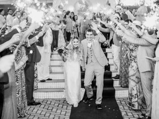 O casamento de Camila e Olavo