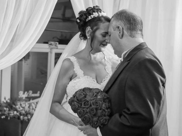 O casamento de Vanda e Silvio