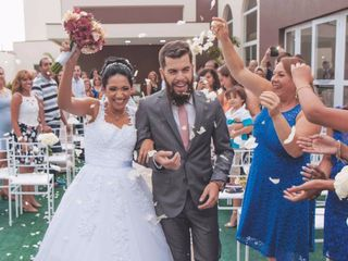 O casamento de Viviane e Miltom