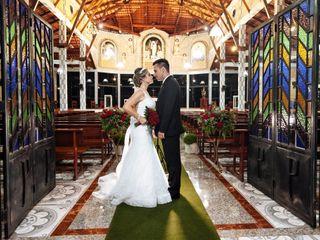 O casamento de Luísa e Leander