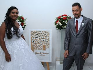 O casamento de Gisele  e Geraldino