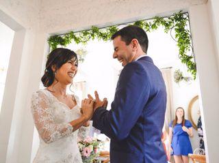 O casamento de Denise e Eduardo