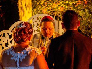 O casamento de Cristiane e Alexandre