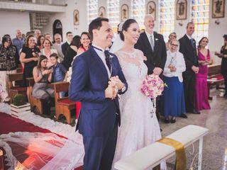 O casamento de Claudia e Cristiano 3