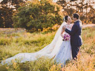 O casamento de Claudia e Cristiano