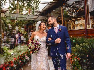 O casamento de Thamires e André