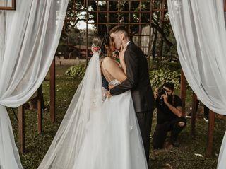 O casamento de Priscila e Lucas
