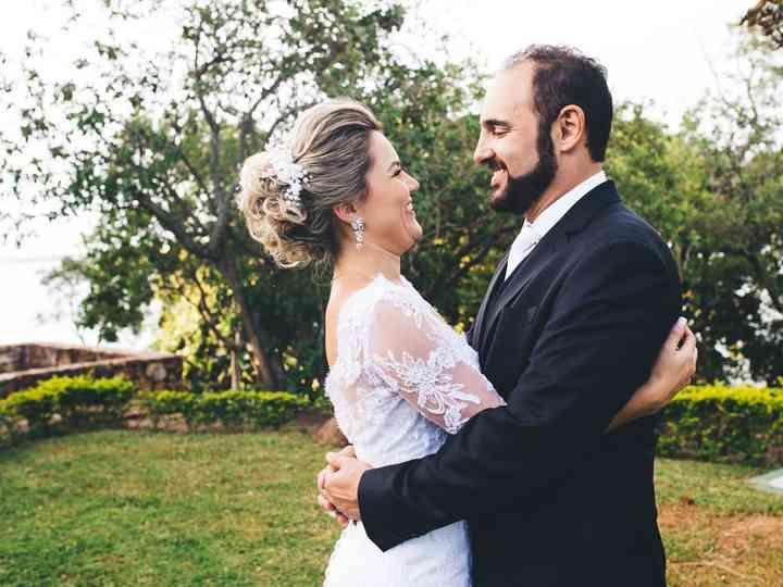O casamento de Raquel e Télio