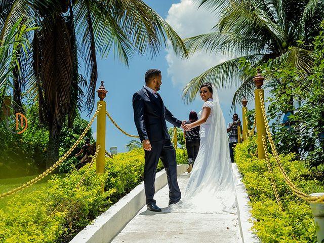 O casamento de Camila e Robson