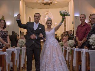 O casamento de Thaíssa e Arthur