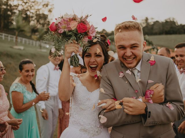 O casamento de Daiane e Vitor