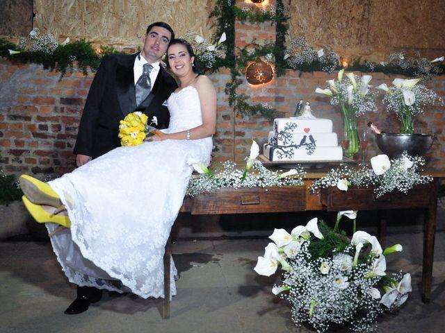 O casamento de Viviani e Roney