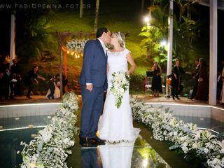 O casamento de Alyne e Eduardo