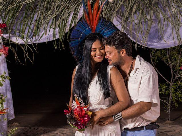 O casamento de Leila e Léo