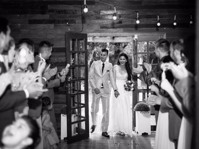 O casamento de Jaqueline e Samuri