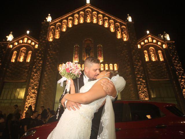 O casamento de Michele e Leandro
