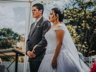 O casamento de Karina e junior