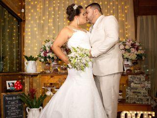 O casamento de Marcelle e Claudecir