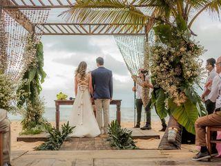 O casamento de Flávia e Luciano