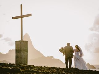 O casamento de Raquel e César