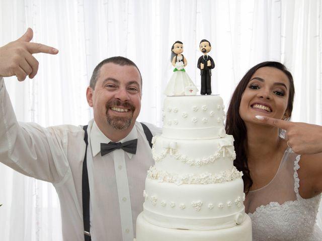 O casamento de Aline e Vicente