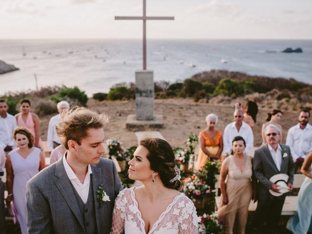 O casamento de César e Raquel em Fernando de Noronha, Pernambuco 17