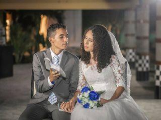 O casamento de Lara e Yan