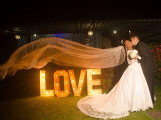 O casamento de Larissa e Emerson