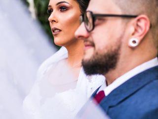 O casamento de Camila e Alexandre