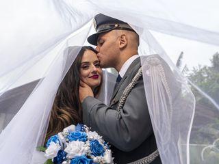 O casamento de Lia e Carlos