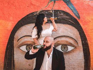 O casamento de Mariana e Israel