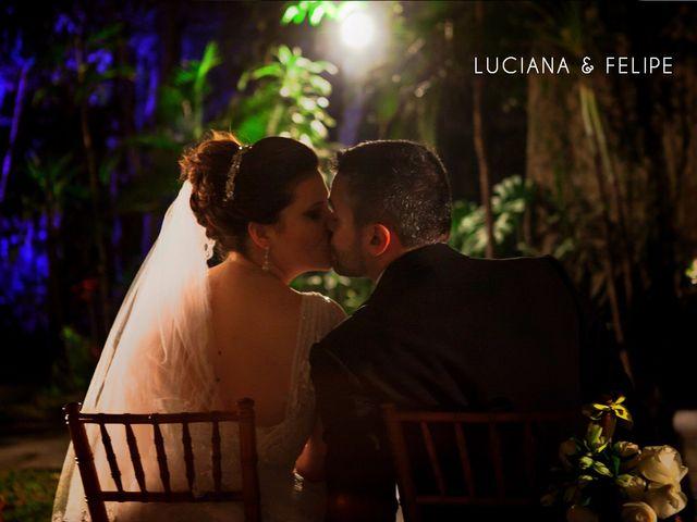 O casamento de Luciana e Felipe