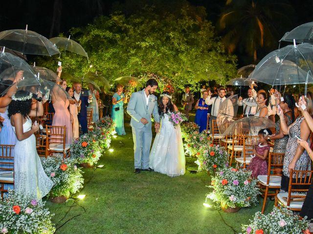 O casamento de Rodrigo e Lira em Monte Gordo, Bahia 63