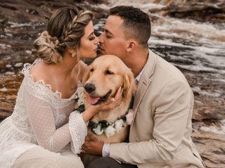 O casamento de Mariana e Edgar