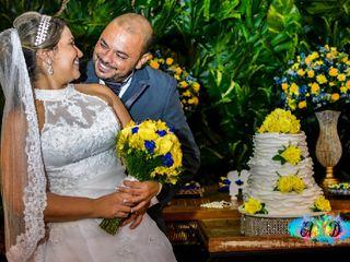 O casamento de Regiane e Mauro
